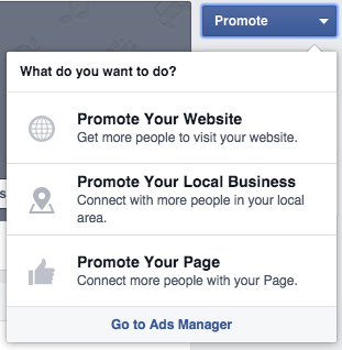 Promote your local business on Facebook