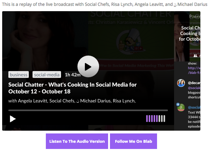 Simple Live Press - Blab Users