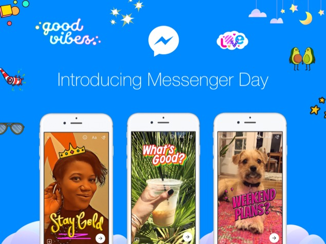 Introducing Facebook Messenger Day