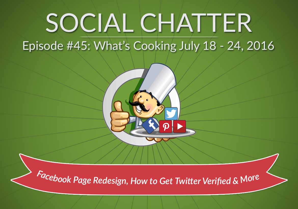 Social Chatter: Episode 45 - Featured