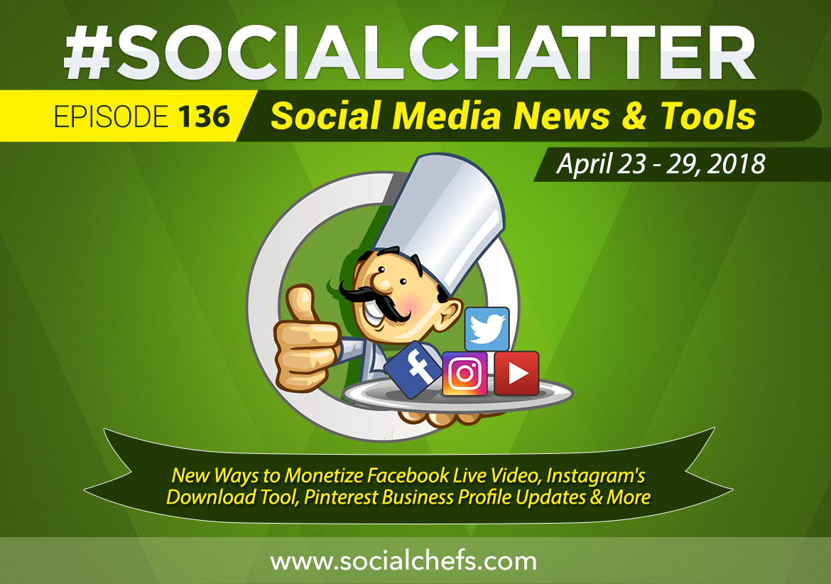 Social Chatter: Episode 136 - Featured