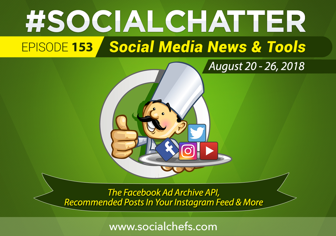 Social Chatter: Episode 153 - Featured