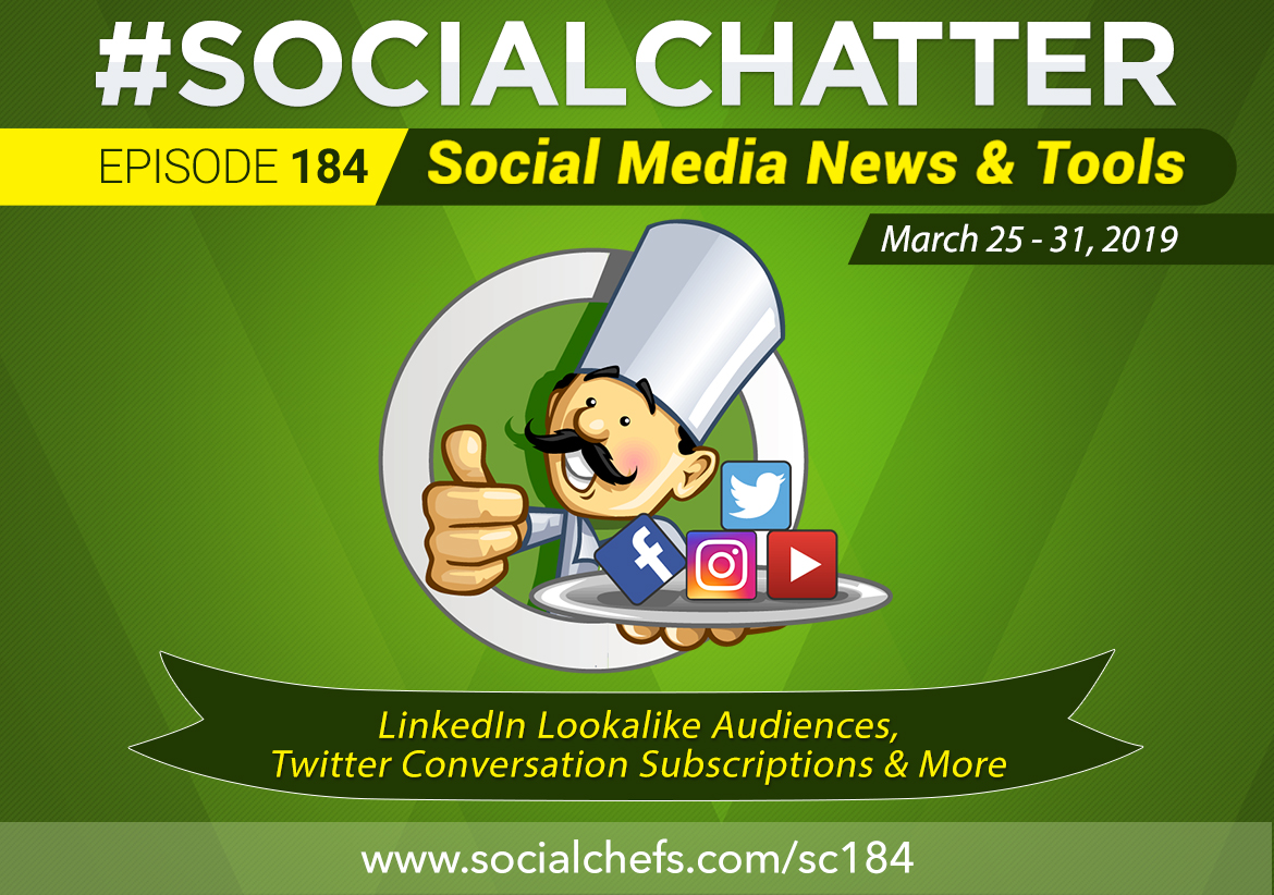 Social Chatter: Episode 184 - Featured