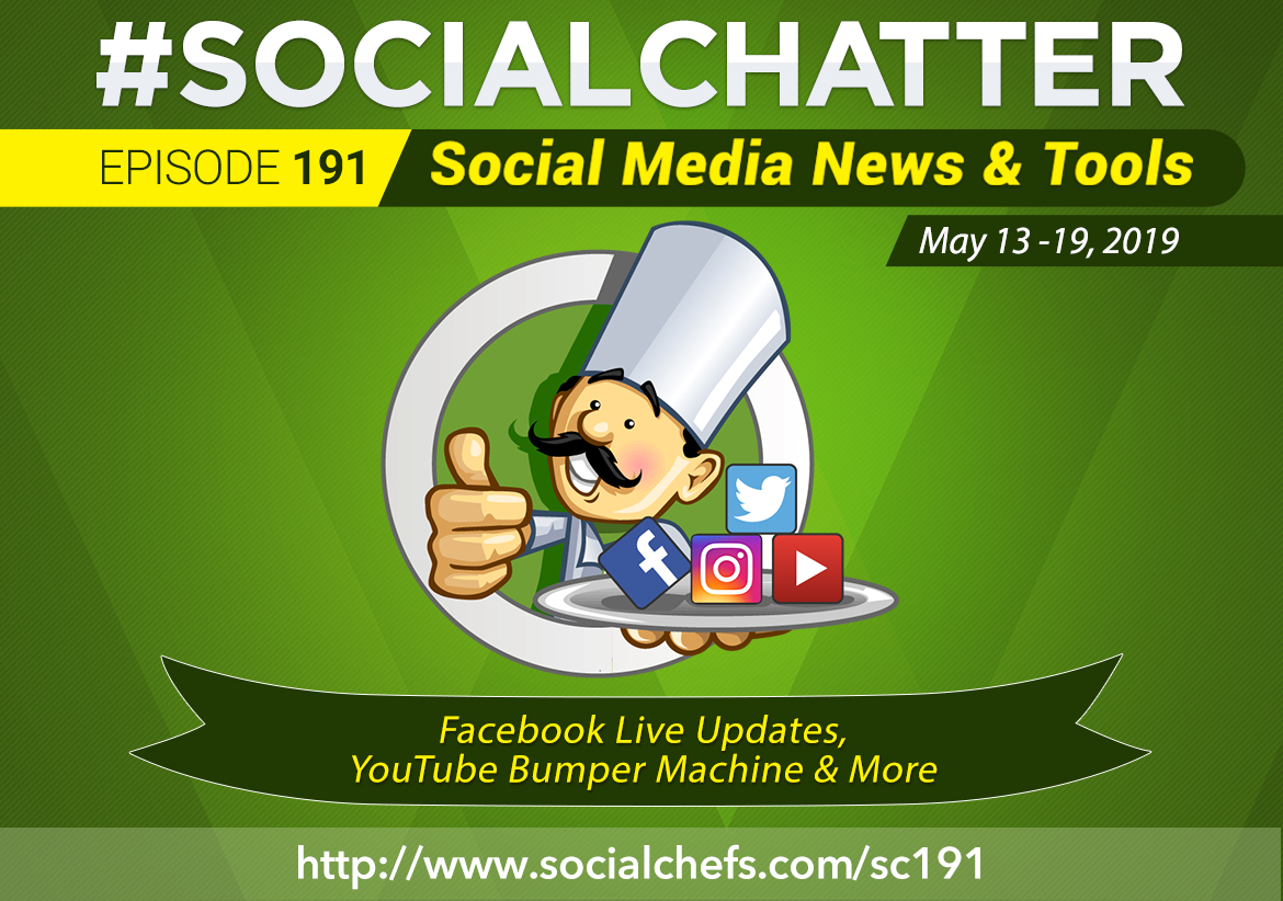 Social Chatter: Episode 191 - Featured